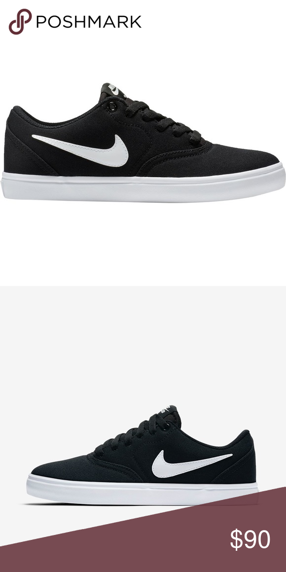 80c466abba19 NWOT Nike black canvas SB shoes Brand new womens nike sb shoes. Never worn  just don t fit how I want. Reasonable offers welcome! Nike Shoes Sneakers