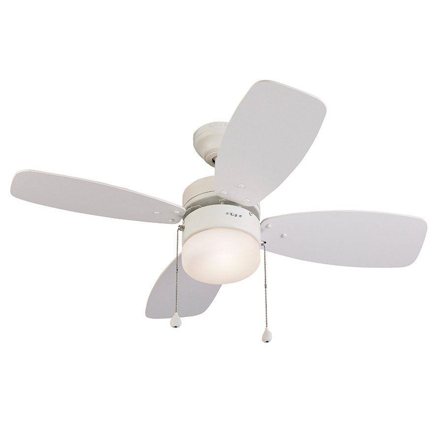 Harbor Breeze Riverview 36 In White Ceiling Fan Ceiling Fan With Light Ceiling Fan Shop Ceiling Fans