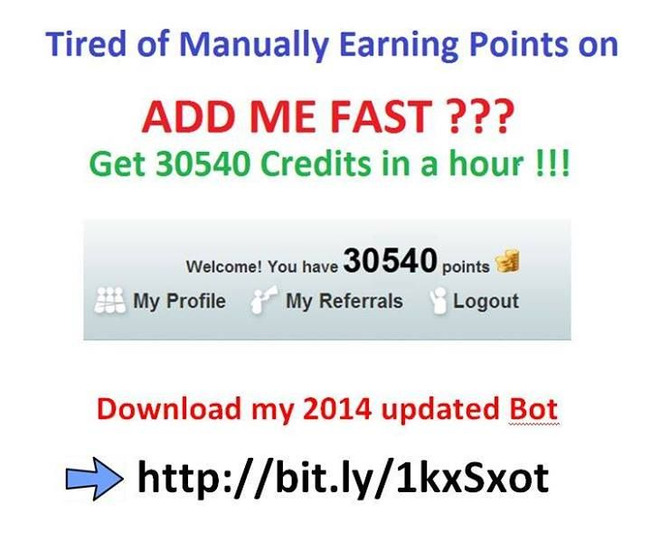 Earn 30540 Points In An Hour With My New Fast Addmefast Bot Places To Visit Book Worth Reading Ads