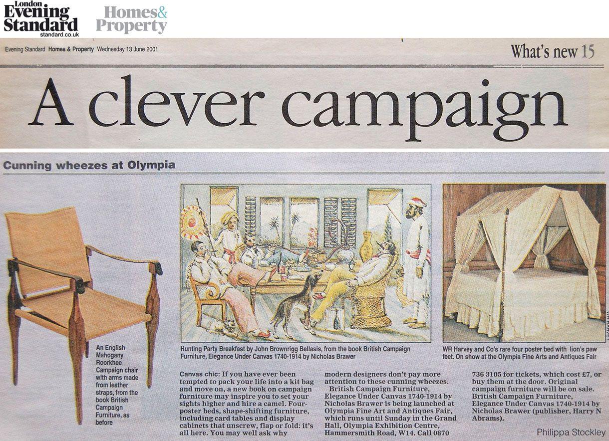 British Campaign Furniture Plans | British Campaign ...