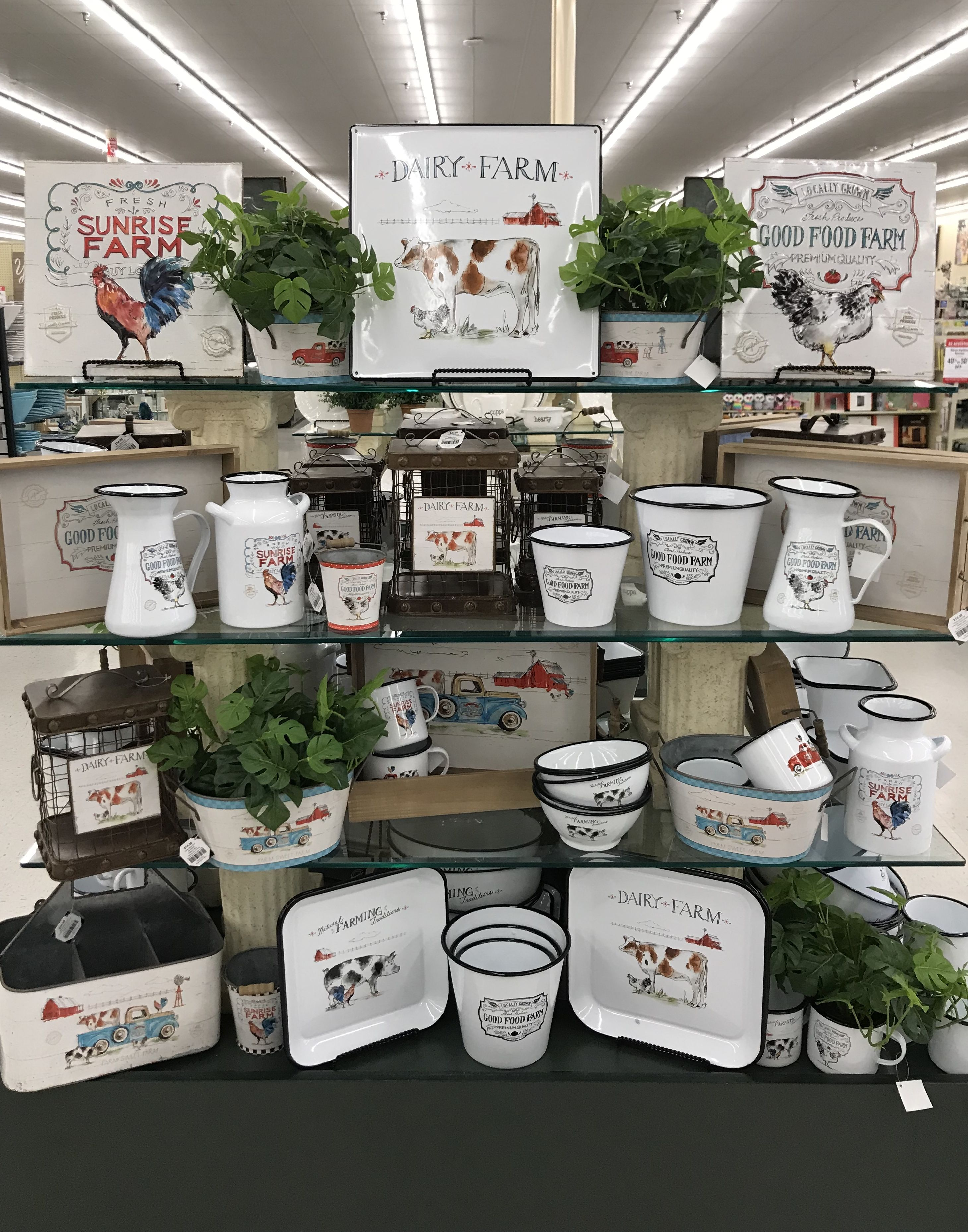 Hobby lobby merchandising table displays work Rustic