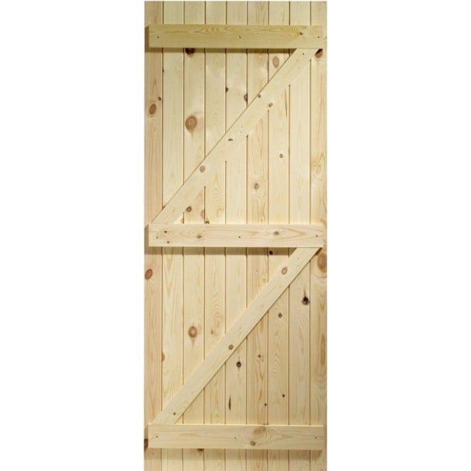 XL Joinery Lu0026B Knotty Pine External Gate | Leader Doors  sc 1 st  Pinterest & External Knotty Pine Unfinished Ledged u0026 Braced Gate | Knotty pine ...