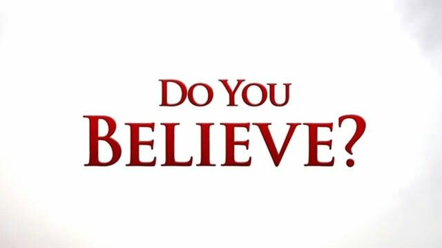 Tú crees en Dios? Yo sí.