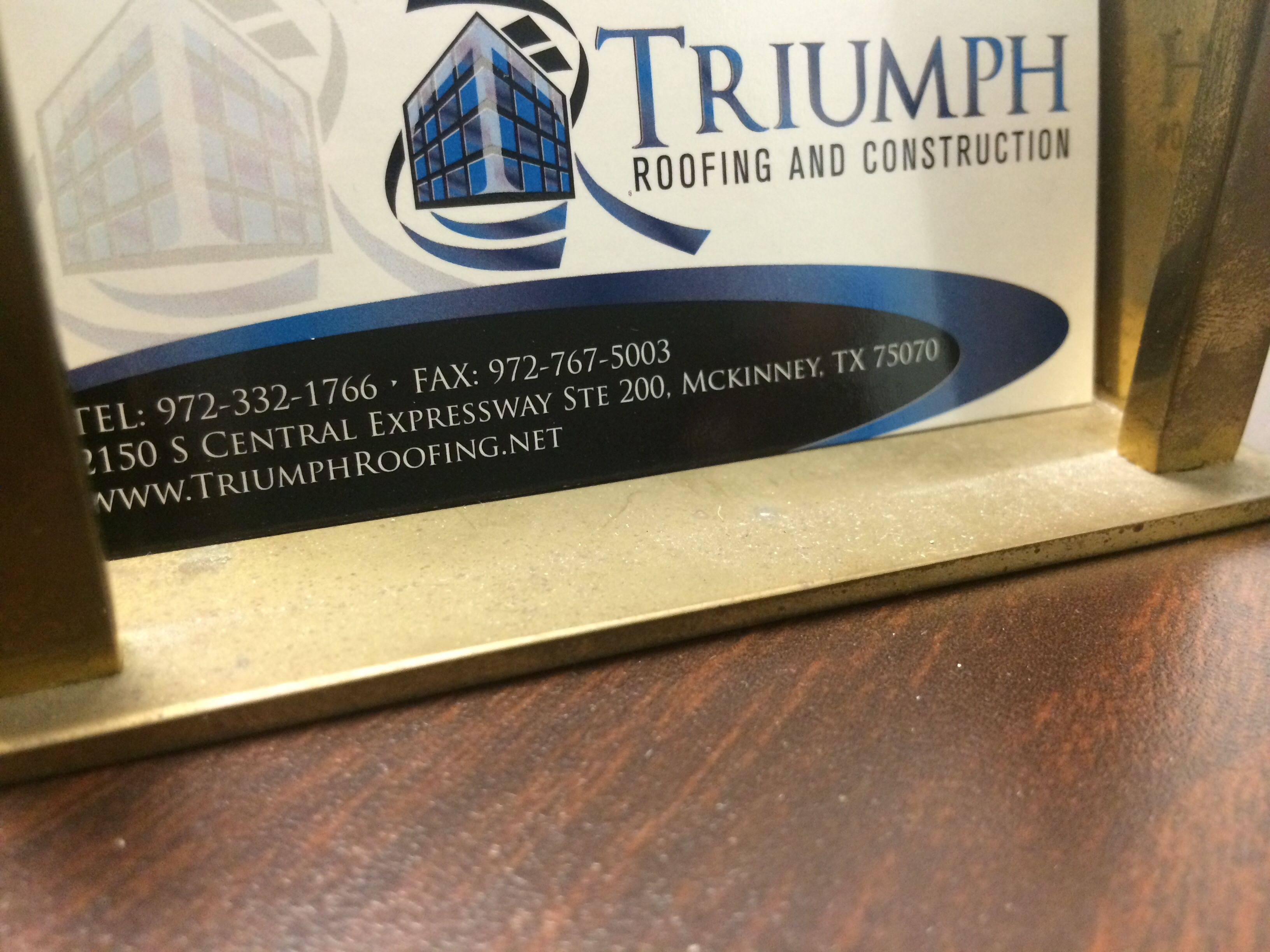 Please keep this card handy in case someone you know needs a free #roof inspection.