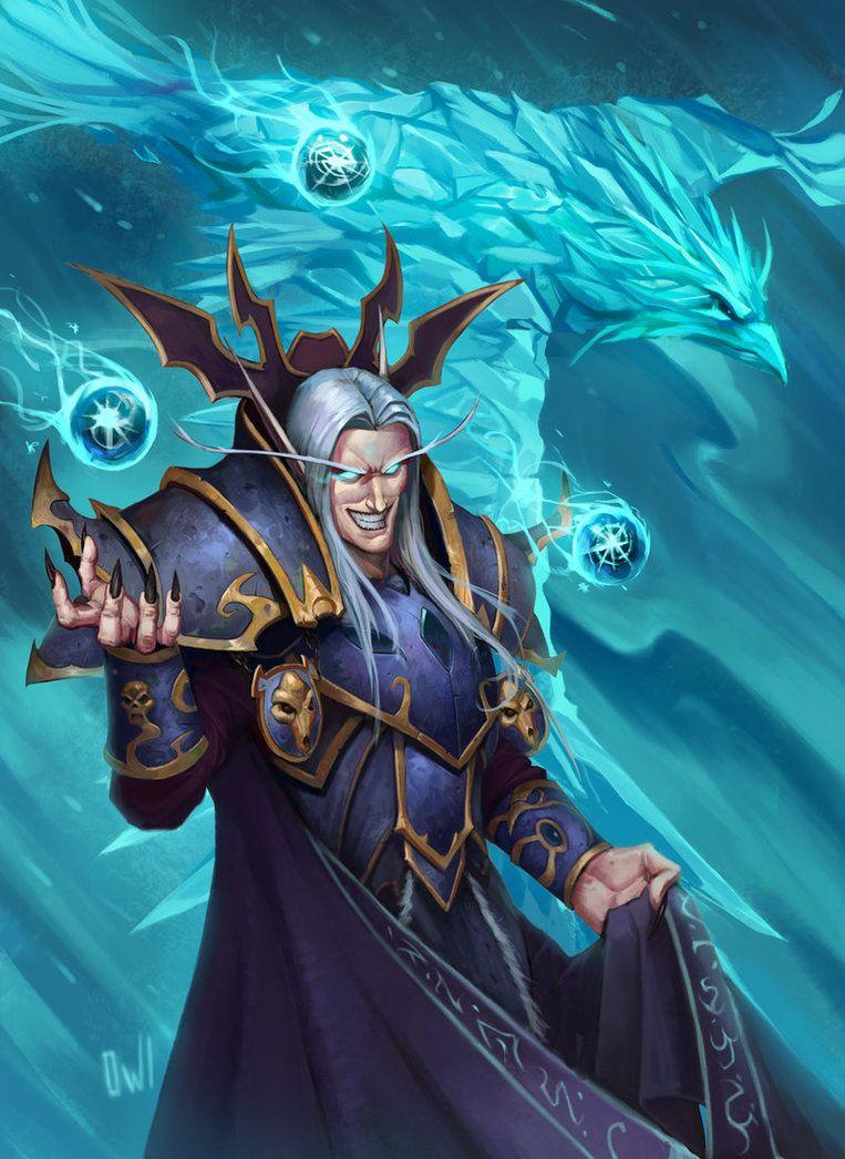 Kael'thas Sunstrider by HI-artist   Warcraft in 2019   Warcraft art