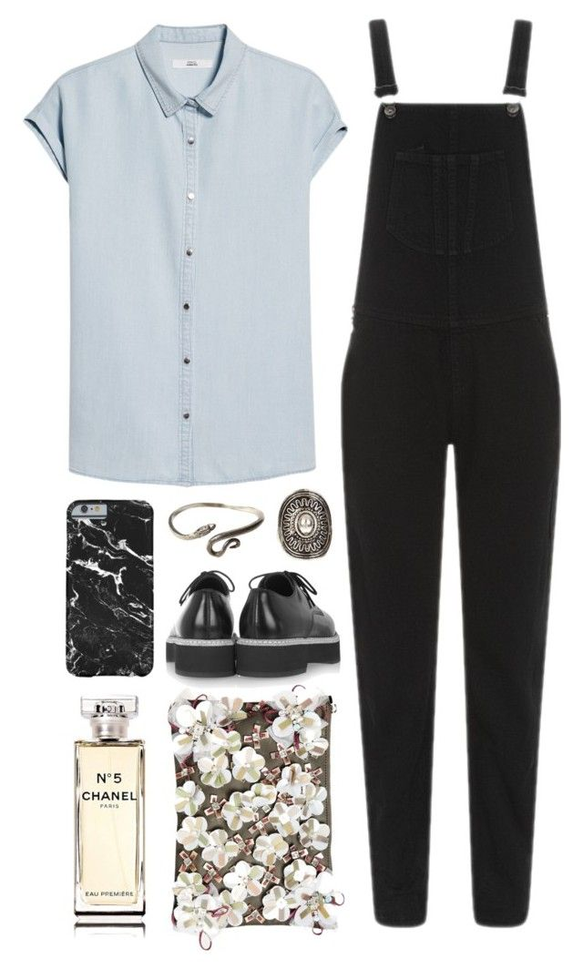 """Untitled #663"" by mywayoflife ❤ liked on Polyvore featuring MANGO, Alexander McQueen, rag & bone, ASOS, FOSSIL, Chanel, Unearthen and Relic"