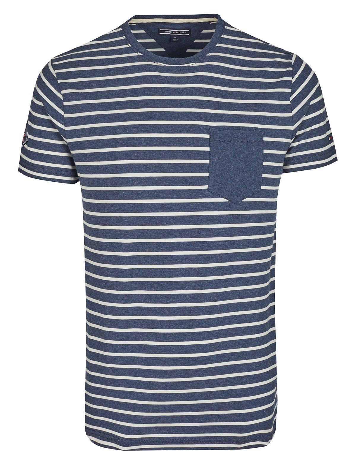 ea2a2b514a6f Tommy Hilfiger T-Shirt striped / designer online shop | Men's ...