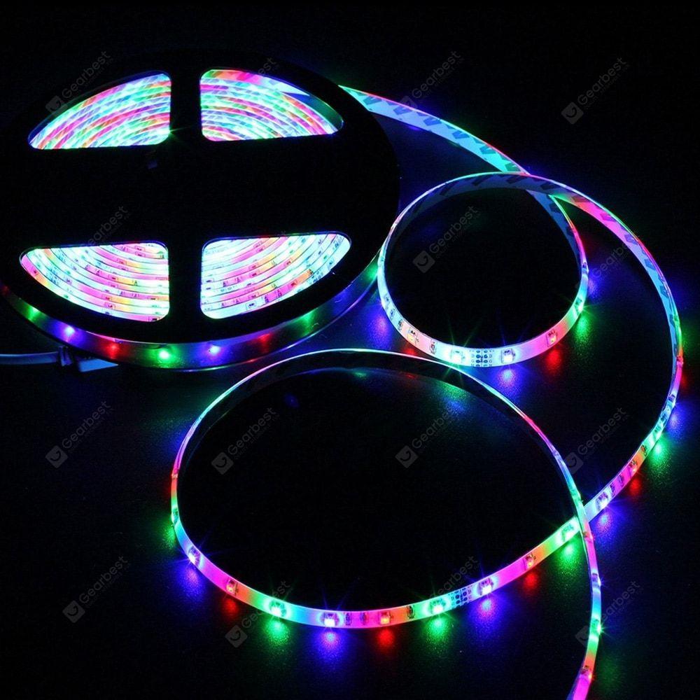 Zdm Waterproof 5m 24w Smd Rgb Strip Light Multi A 44key Rgb Led Strip Lights Flexible Led Light Led Strip Lighting