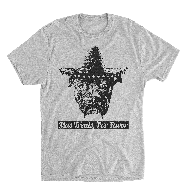 ead8259f Mas Treats Por Favor - Funny Pitbull Shirt - Pitbull Shirt - Dog Shirts -  Pitbull Lover - Pitbull Print - Pitbull Gifts - Mens Shirts by  BasementShirts on ...