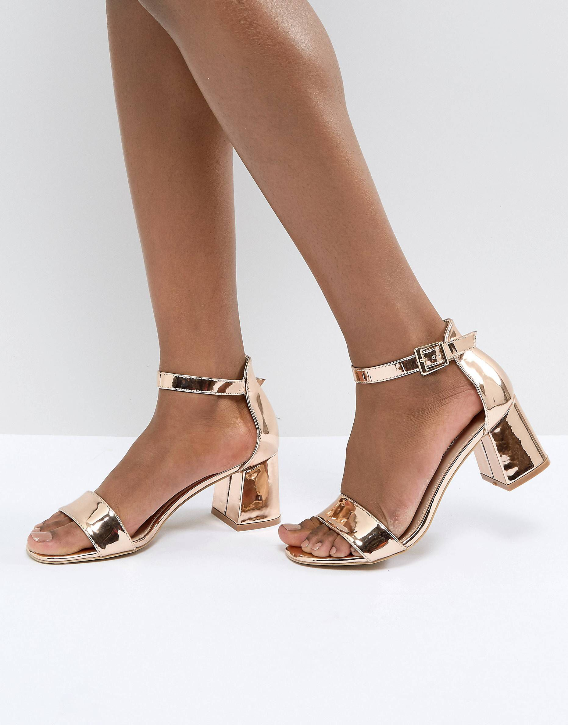 Just When I Thought I Didn T Need Something New From Asos I Kinda Do Heels Block Sandals Casual Shoes Women