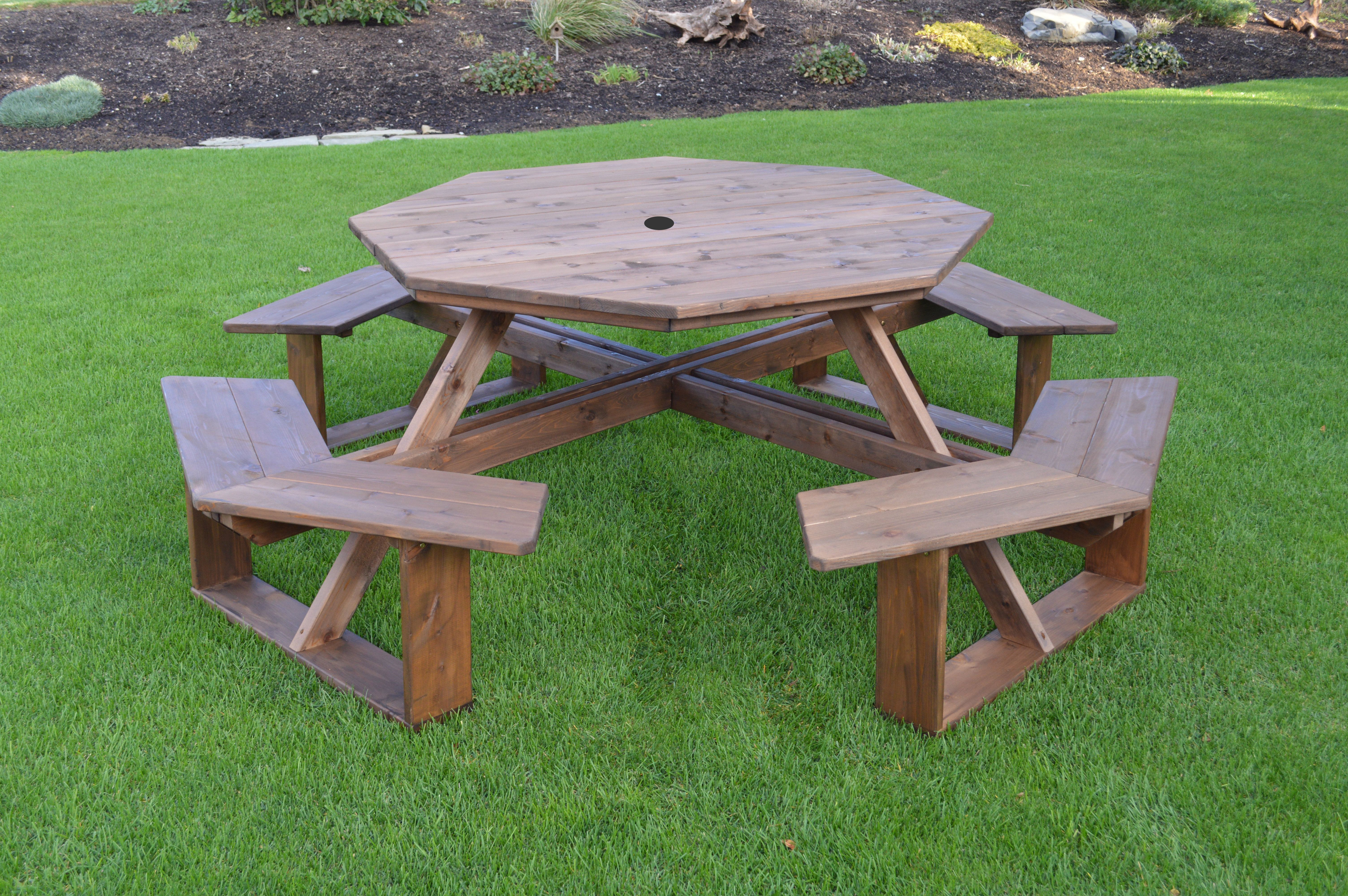 Free Woodworking Plans Hexagon Picnic Table Picnic Table Woodworking Plans Picnic Table Plans Picnic Table