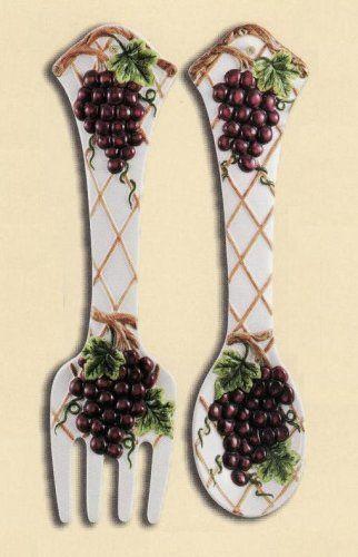 Pin by Deanna Hilbert on Grape Decor | Grape kitchen decor ...