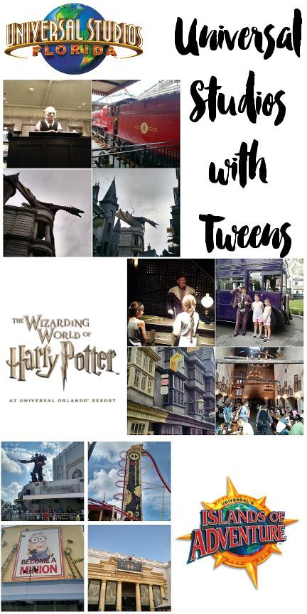 Tips for Universal Studios with Tweens and Teens