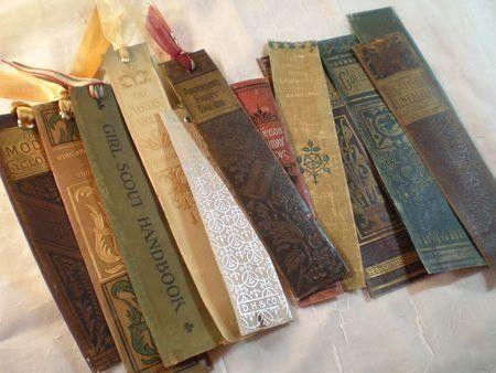 Закладка для книг скрапбукинг своими руками