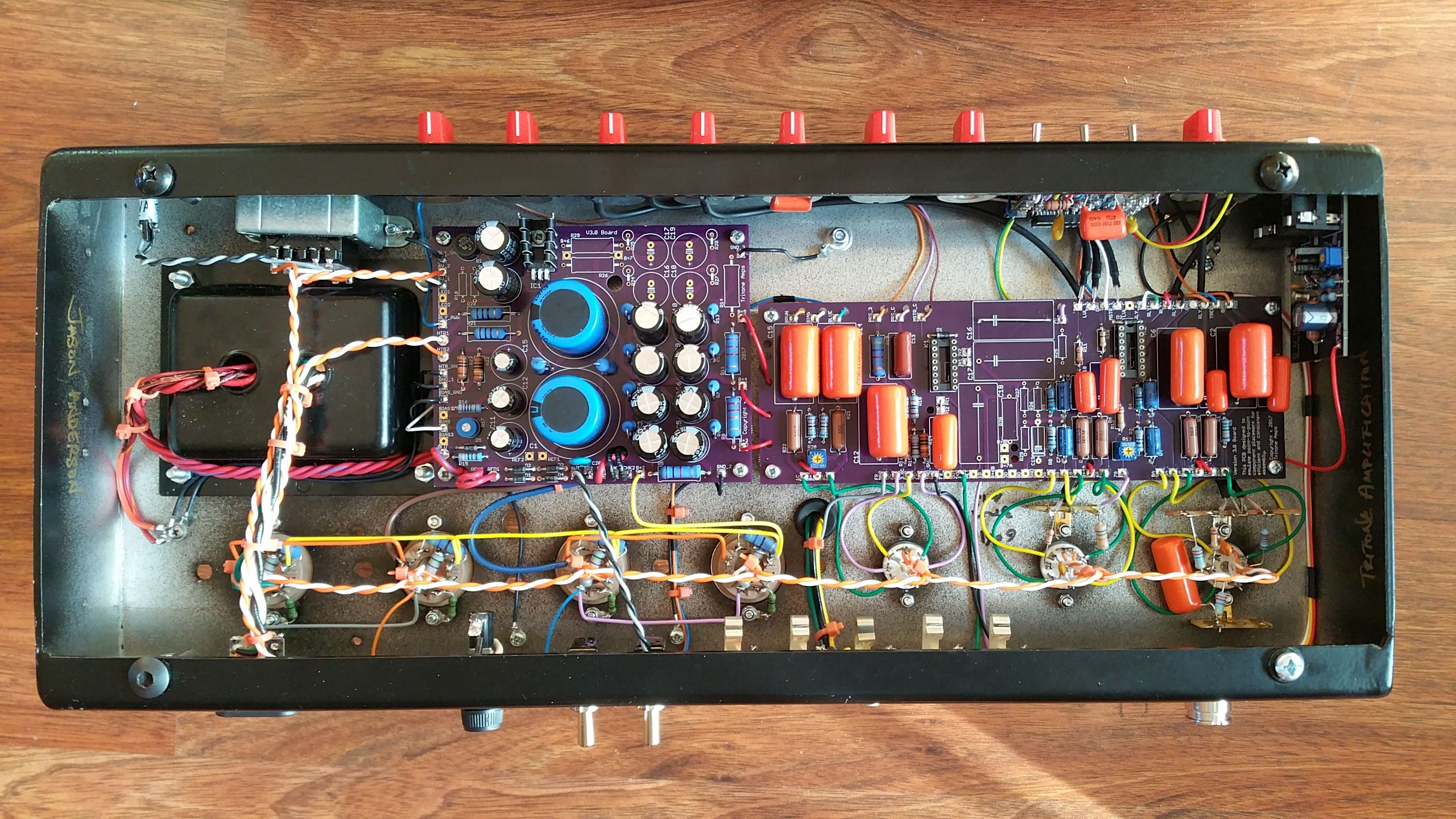 Another New Generation Dumble Overdrive Special Clone Built By Vox Ac30 Wiring Tritone Amplification