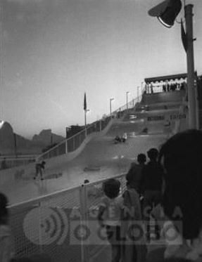 Tobogã da Lagoa 1970