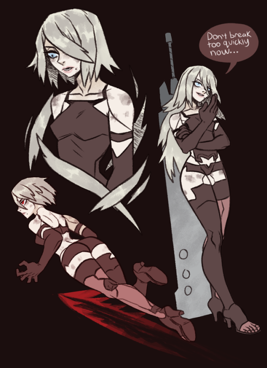 I know I'm late to the party on this…but I love NieR: Automata and I REALLY love A2