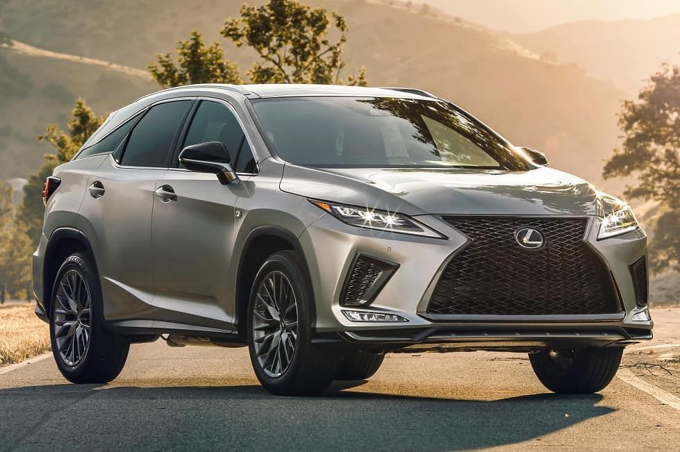 For 2020, the Lexus RX 350 F Sport gets revised styling, a