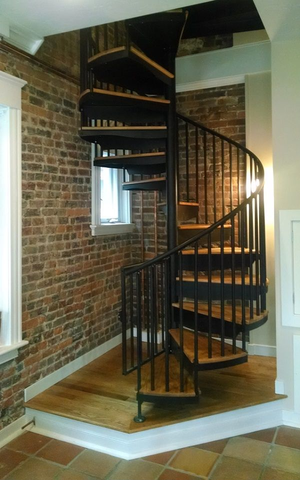Spiral Stair To An Attic Types Of Attic Stairs Salter Spiral Stair The Blog Pinterest