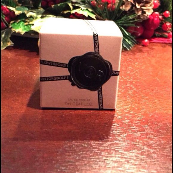 Viktor&Rolf Flower Bomb Perfume NEW!! Miniature Viktor &Rolf  flower bomb perfume. 7ml 0.24fl oz VIKTOR & ROLF Makeup