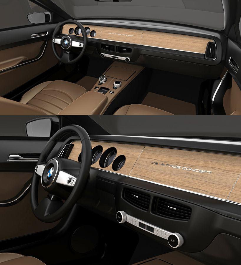 Interior Bmw Concept Bmw Classic Cars Vintage Concepts