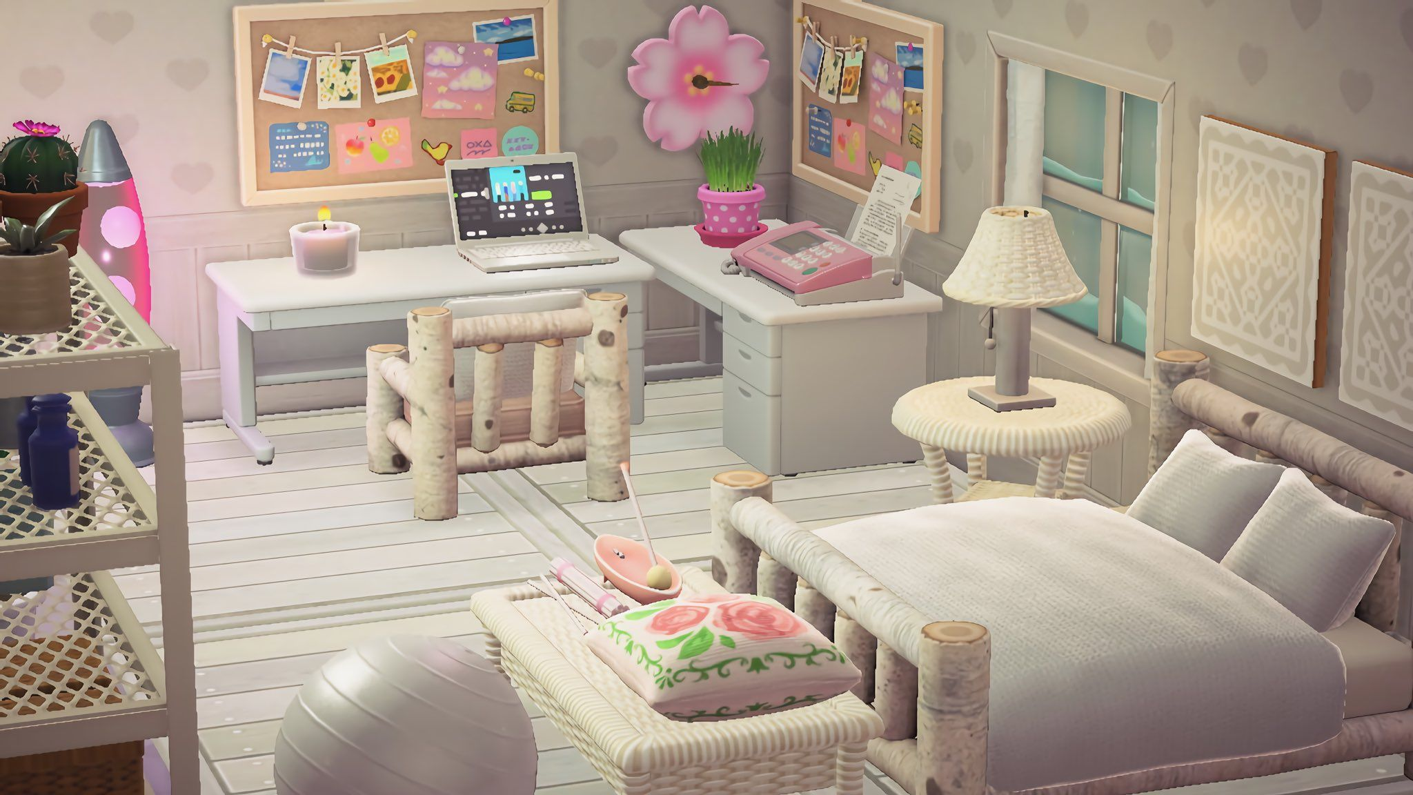 animal crossing new horizons acnh interior in 2020 ... on Animal Crossing Room Ideas New Horizons  id=85858