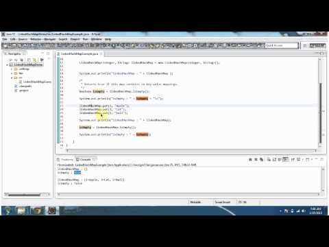 Java Collection Framework Linkedhashmap Isempty With Images