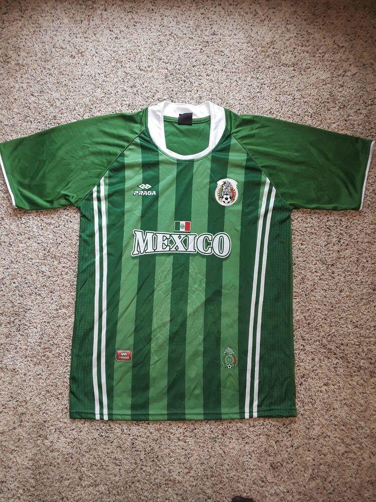 e3cce05c5e7 Mexico Soccer Jersey Praga green eagle flag embroidered patch shirt  lightweight  Praga  Jerseys