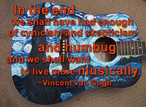 van Gogh was right.