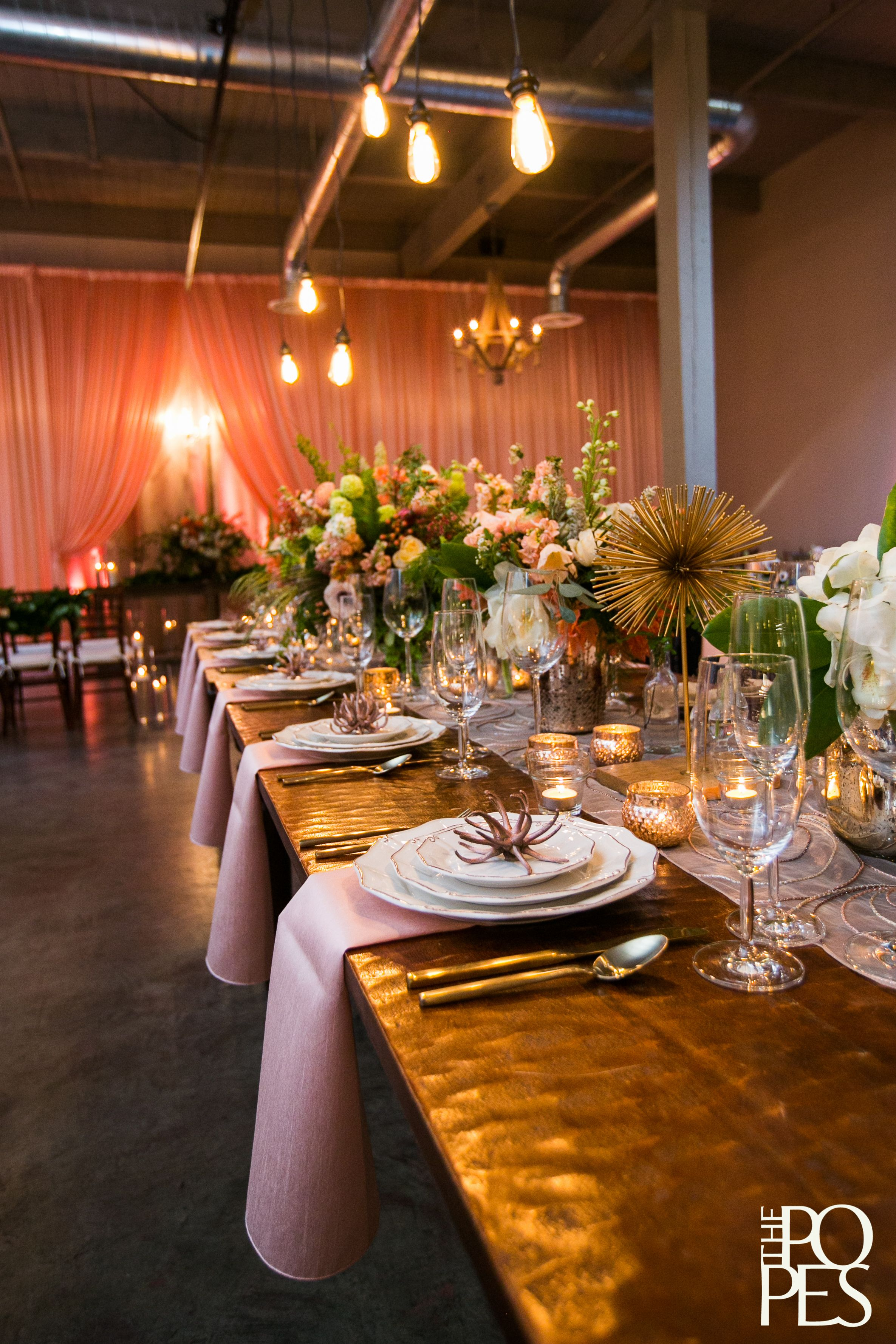 2015 Springsummer Open House The Foundry Wedding Decor Ideas