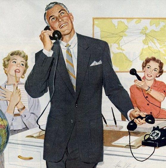 watch a8e72 e623a Look uomo anni '50 | suitspiration | Vintage office, Vintage ...
