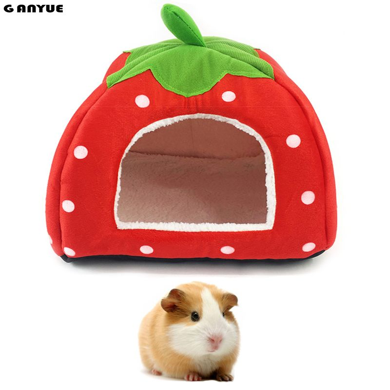 Pumpkin Shape Small Animal Mat Pad Cushion for Hamster Guinea Pig Bed Cage