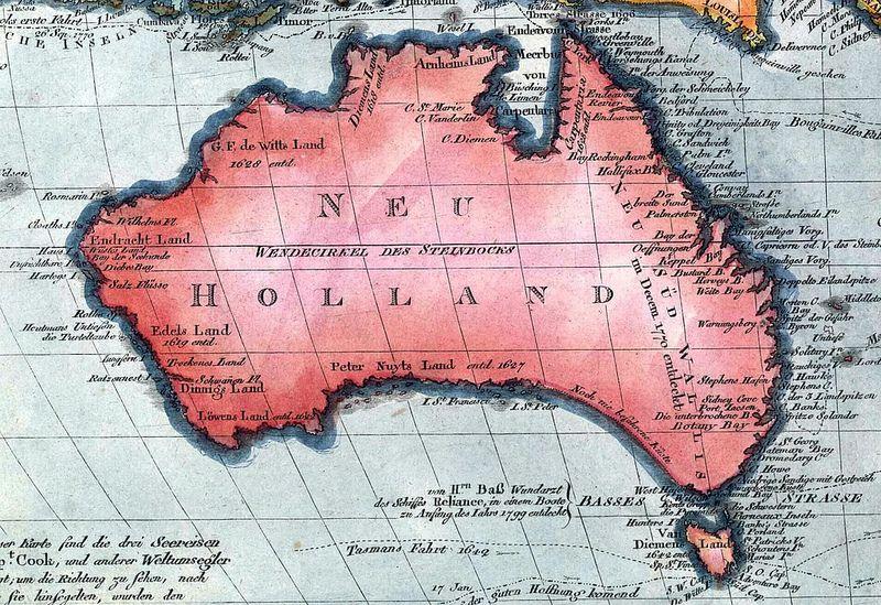 Old maps of Australia | Australia map. Old maps. Tasmania