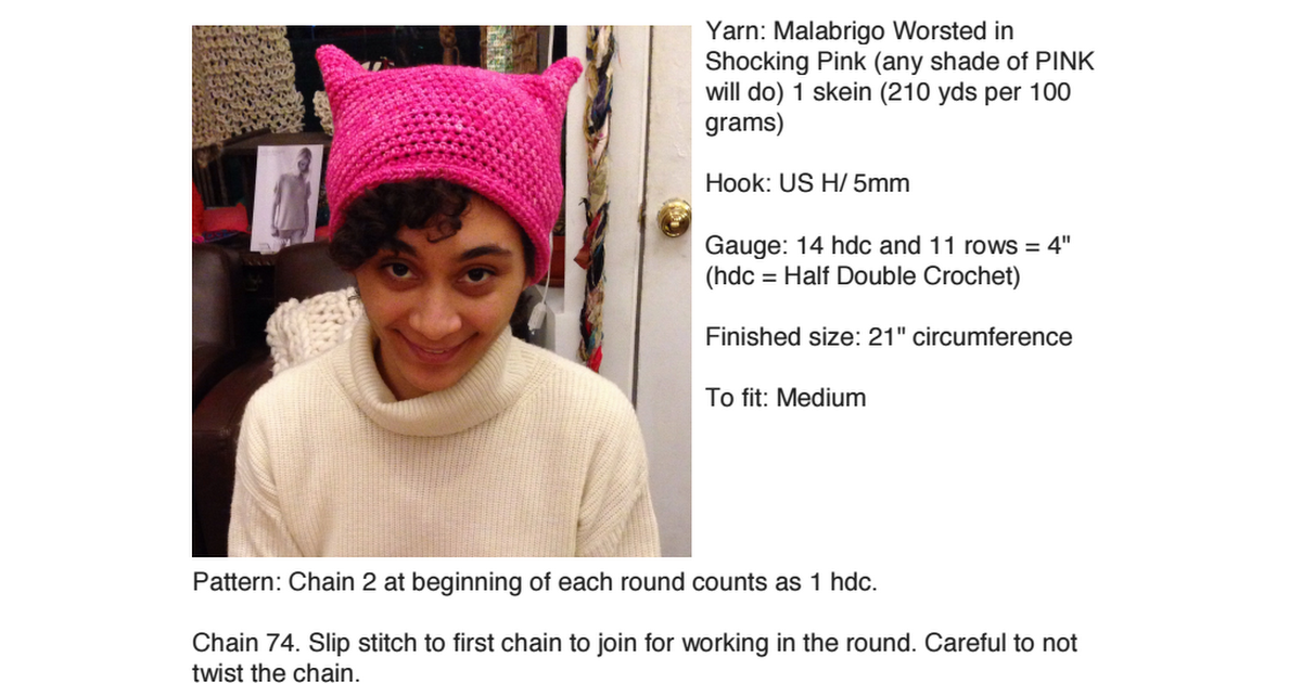 ba4ec8a4a41 Pussy Hat Project Crochet Version.pdf