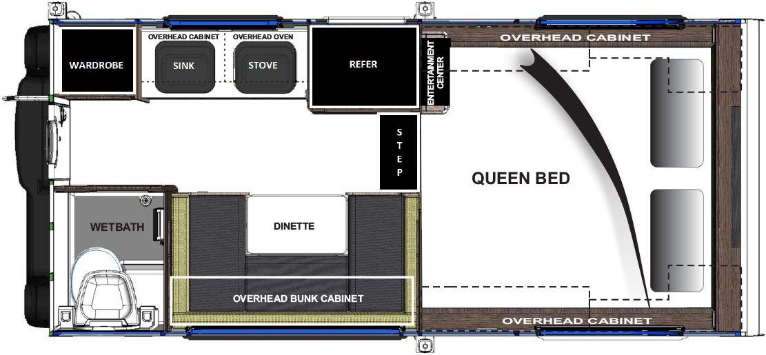 CIRRUS TRUCK CAMPER MODELS CIRRUS 800 MODEL SPECS Floor Length 8\'6 ...