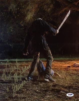 Derek Mears Friday The 13Th - Jason Signed 11X14 Photo #X31198 - Psa @ niftywarehouse.com #NiftyWarehouse #Geek #Horror #Creepy #Scary #Movies