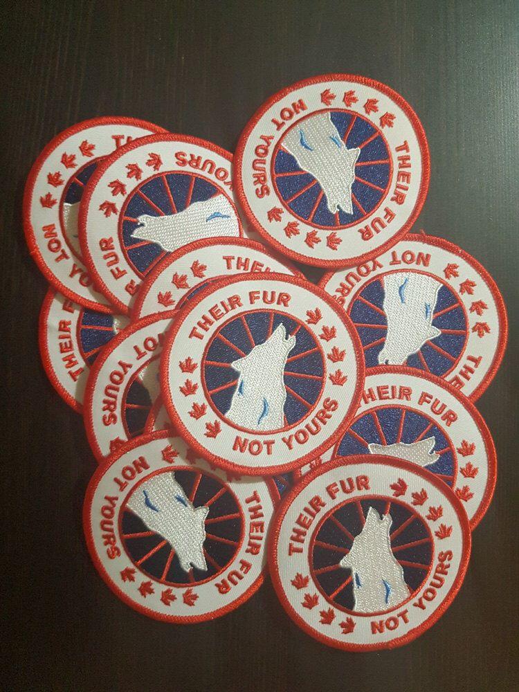canada goose badge replacement