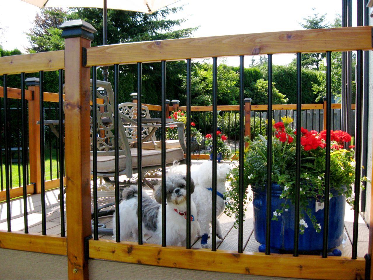 cabin deck railing ideas Download Wallpaper