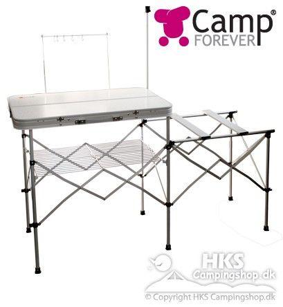 Sammenklappeligt køkkenbord CampForever