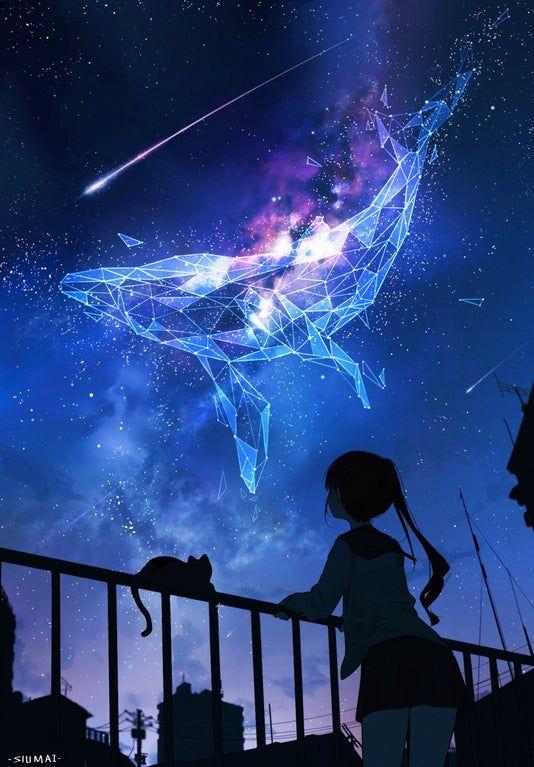 Constellation in the Night Sky [Original]