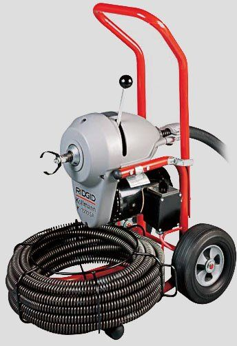 Decent Electric Sewer Snake Ikuzo Plumbing Sewer Drains Drain Cleaner