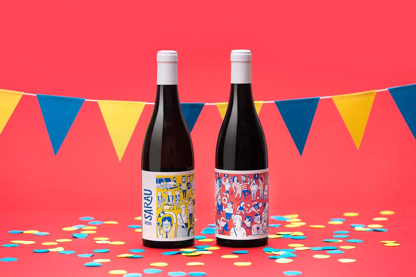 Sarau Wine On Packaging Of The World Creative Package Design Gallery Wine Packaging Design Wine Design Wine