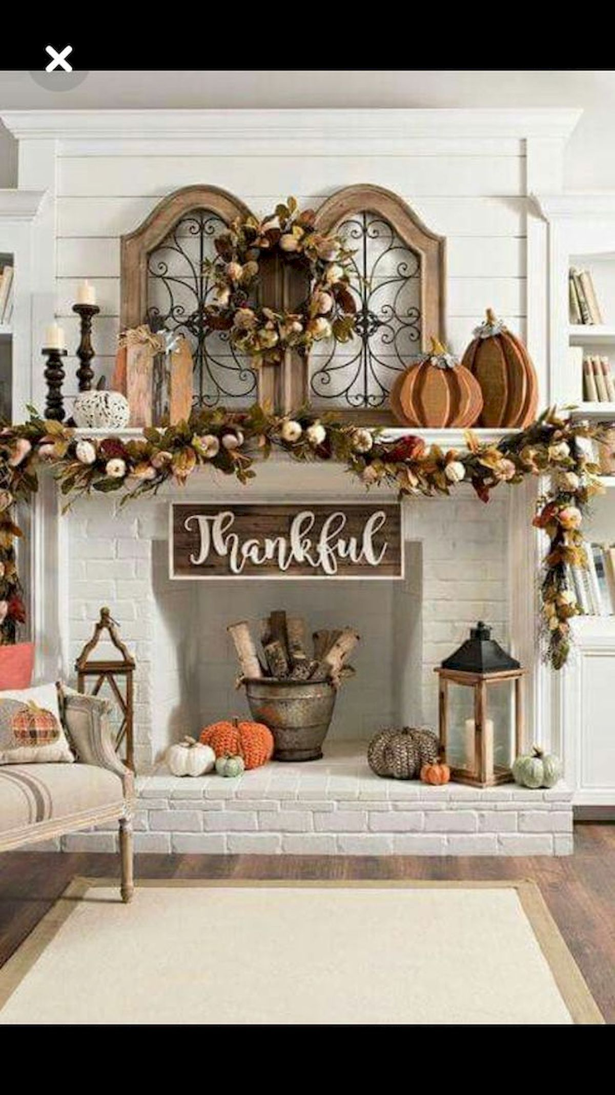 Elegant Fall Mantel Decor Ideas PROJECT Pinterest