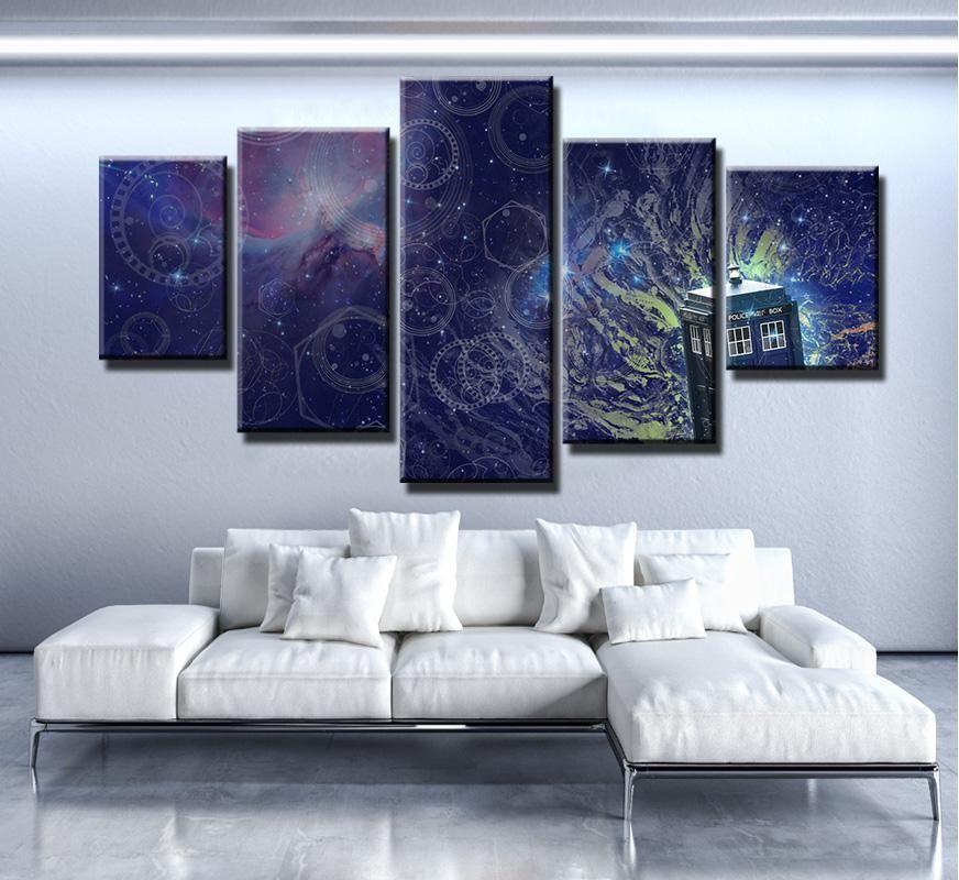 Doctor Who Tardis Movie Canvas Wall Art Canvas Wall Decor Canvas Art Wall Decor Customized Canvas Art