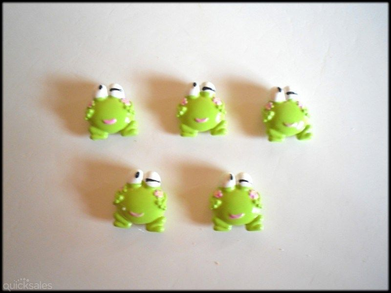 Keroppi The Frog Fridge/Memo Board Magnets  by MadAboutIncense - $6.00