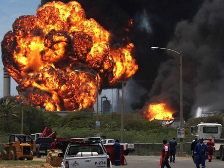 VENEZUELA:EXPLOSIÓN EN AMUAY FUE ADVERTIDA HASTA POR EXPERTOS INTERNACIONALES
