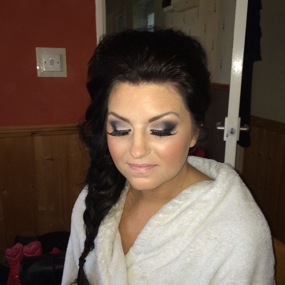 Hair & Mac makeup makeover by Jamie Russell Plymouth wedding makeup ...