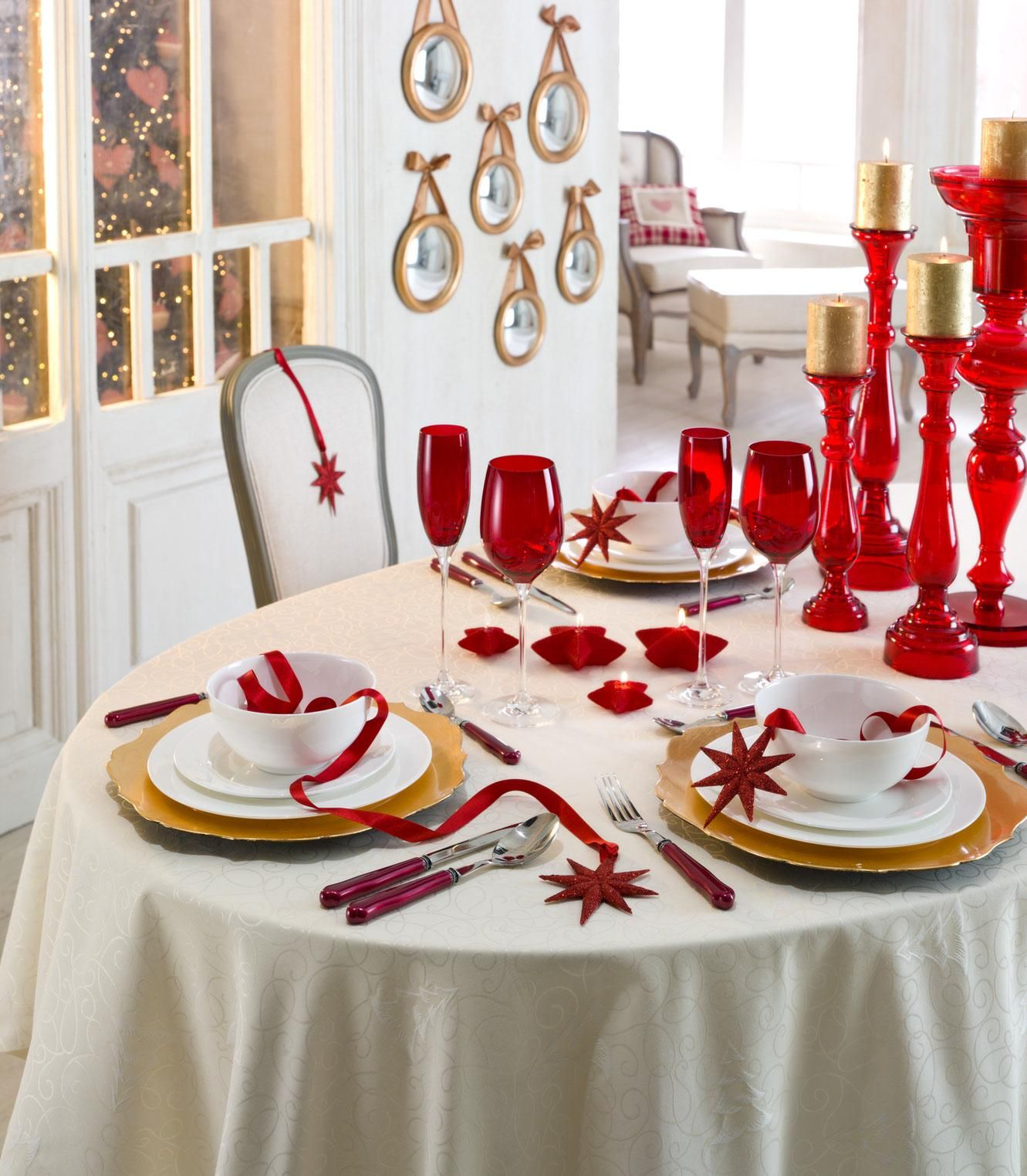 Christmas Place Settings Ideas