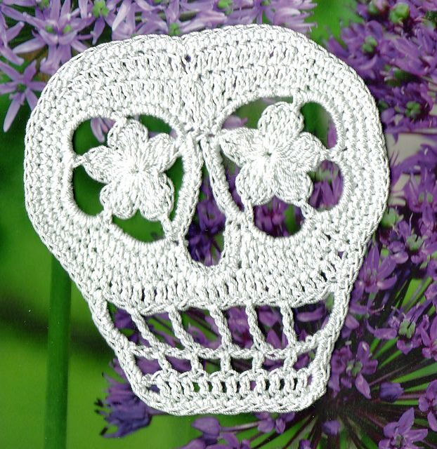 Ravelry: Vera Revised Day of the Dead Sugar Skull pattern by Spider ...