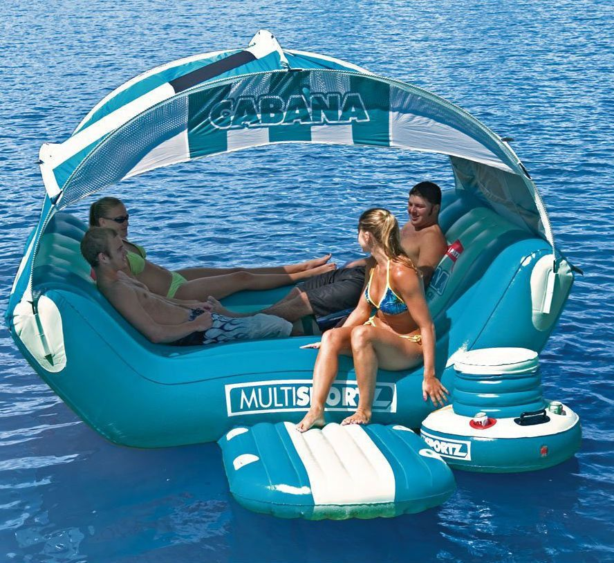 Inflatable Kids Birthday Chair: Water Lounge Raft Pool Inflatable Float Lake Swimming